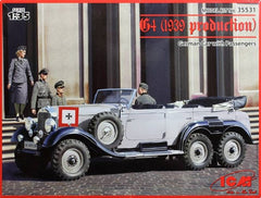ICM 1/35 G4 (1939 production) German Car with Passengers | 35531