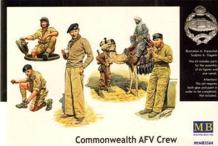 Master Box 1/35 Commonwealth AFV Crew | MB3564