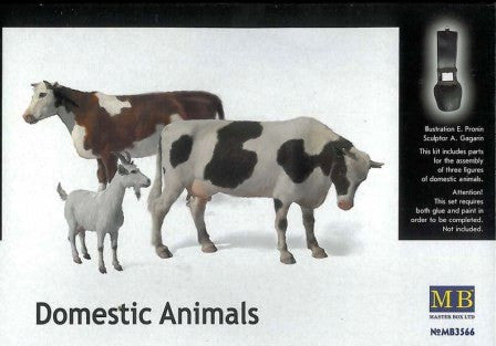 Master Box 1/35 Domestic Animals | MB3566