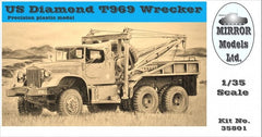 Mirror Models US Diamond T 969 Wrecker Softtop | 35801