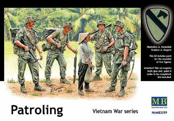 Master Box 1/35 Patroling Vietnam War series | MB3599