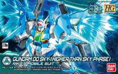 HG Build Divers Gundam OO Sky (Higher Than Sky Phase) Riku's Mobile Suit Bandai | No. 0230836 | 1:144