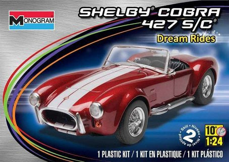 Monogram 1/24 Shelby Cobra 427 S/C  | MONO85-4011