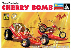 Monogram 1/24 Tom Daniel's Cherry Bomb Showcar w/Motorcycle & Trailer | 85-4191