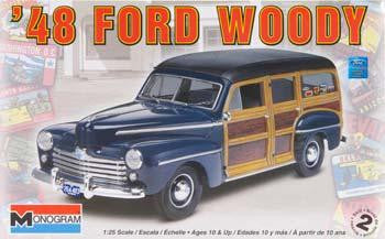 Monogram 1/24 '48 Ford Woody | MONO85-4282