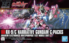 HGUC Gundam NT RX-9/C Narrative Gundam C-Packs Anaheim Electronics Multipurpose Test Mobile Suit Bandai Spirits | No. 5056760 | 1:144