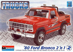 Monogram 1/24 1980 Ford Bronco 2n1 | MONO85-7214