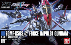 HG Cosmic Era ZGMF-X56S/α Force Impulse Gundam Z.A.F.T. Mobile suit Bandai | No. 0206326 | 1:144