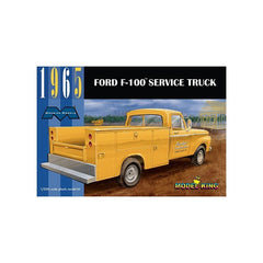 1965 Ford F-100 Service Truck Moebius Models | No. 1235 | 1:25