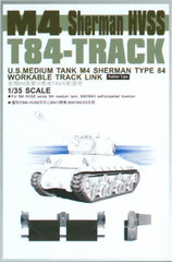 AFV Club 1/35 Sherman HVSS T85 Track Rubber Type | 35033