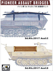 AFV Club 1/35 Pioneer Assault Bridges for SdKfz 251/7 Ausf C/D | AF35112