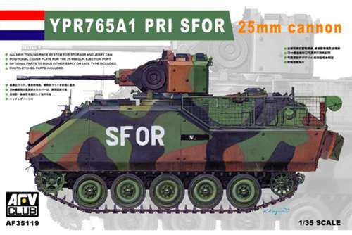 AFV Club 1/35 YPR765A1 PRI SFOR Armored Infantry Command Vehicle | AF35119
