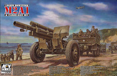 AFV Club 1/35 WWII 105MM Howitzer M2A1 & Carriage M2 | AF35160