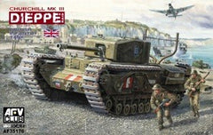 AFV Club 1/35 British Churchill Mk III Dieppe Tank | AF35176