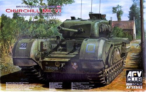 AFV Club 1/35 British Churchill Tank Mk.VI  | AF35S52