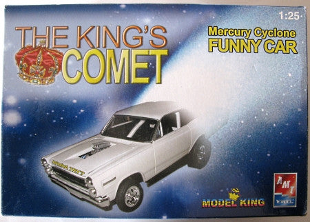 AMT 1/25 Mercury Cyclone Funny Car The King's Comet  |  21466