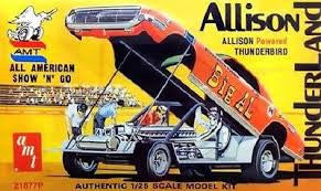 AMT 1/25 Allison Powered Thunderbird Big Al Dragster  |  21877