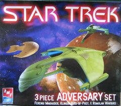 AMT Star Trek 3 Piece Adversary Set | AMT38390