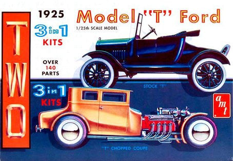 "AMT 1/25 1925 Ford ""T"" 