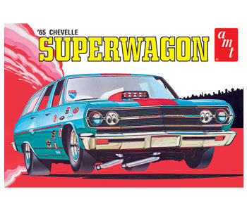 AMT 1/25 1965 Chevy Chevelle Super Wagon | AMT701