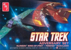 AMT Star Trek 2-Piece Adversary Set  | AMT752/12