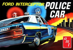 AMT 1/25 '70 Ford Interceptor Police Car | 788