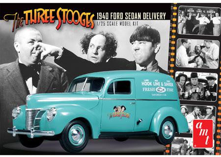 AMT 1/25 1940 Ford Sedan Delivery Three Stooges | AMT791