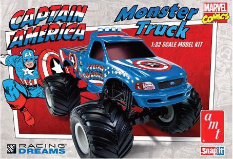 AMT 1/32 Marvel Captain America Ford F-150 Monster Truck | 857