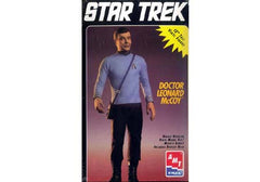 "AMT Star Trek Doctor Leonard McCoy Vinyl Figure Model Kit (12"" Tall) 