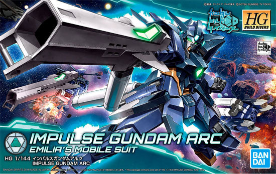 HG Build Divers Impulse Gundam Arc Emilia's Mobile Suit Bandai Spirits | No. 5055336 | 1:144