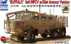 Bronco 1/35 Buffalo 6x6 MPCV with Slat Armor | 35101