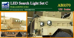 Bronco 1/35 LED Search Light Set C (24 pcs with etching) | 3570