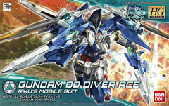 HG Build Divers Gundam 00 Diver Ace Riku's Mobile Suit Bandai | No. 0225756 | 1:144