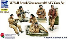 Bronco 1/35 W.W.II British/Commonwealth AFV Crew | CB35098
