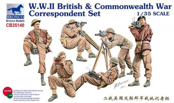 Bronco 1/35 W.W.II British & Commonwealth War Correspondent | CB35140