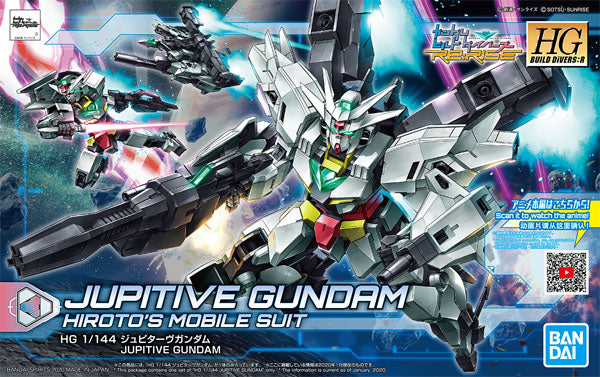 HG Build Divers:R Jupitive Gundam Hiroto's Mobile Suit Bandai Spirits | No. 5059002 | 1:144