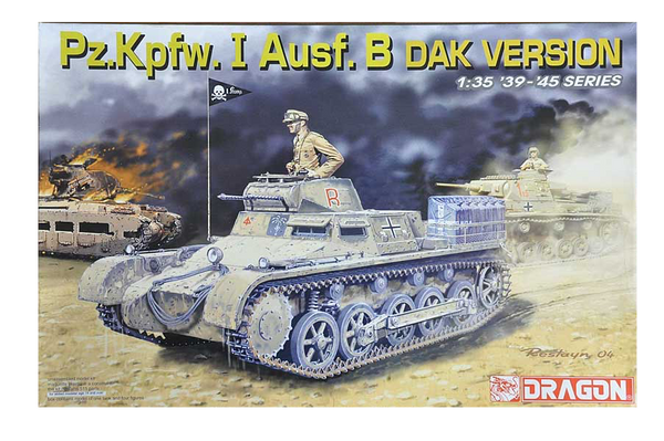 Dragon 1/35 Pz.Kpfw.I Ausf.B, DAK Version | 6207