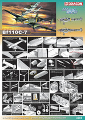 Dragon 1/32 Messerschmitt Bf110C-7 | DRA3203