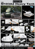 Dragon 1/35 M103A2 Heavy Tank | 3549