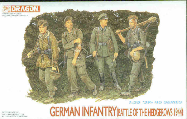 Dragon 1/35 German Infantry (Battle of the Hedgerows 1944) | 6025