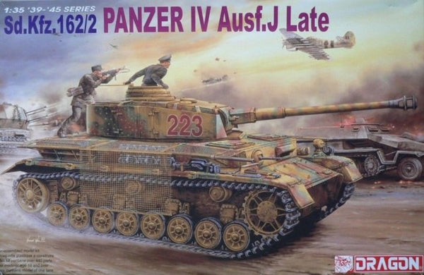 Dragon 1/35 Panzer IV Ausf. J Late Sd.Kfz. 162/2 | 6080
