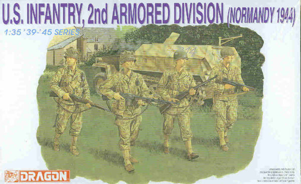 Dragon 1/35 U.S. Infantry, 2nd Armored Division (Normandy 1944) | 6120