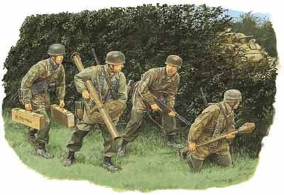 Dragon 1/35 Hedgerow Tank Hunters - Fallschirmjager (Normandy 1944) | 6127