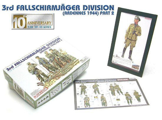 Dragon 1/35 3rd Fallschirmjager Division (Ardennes 1944) | 6170