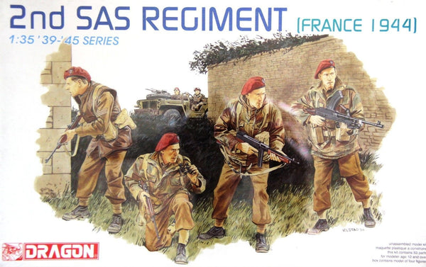 Dragon 1/35 2nd SAS Regiment (France 1944) | 6199