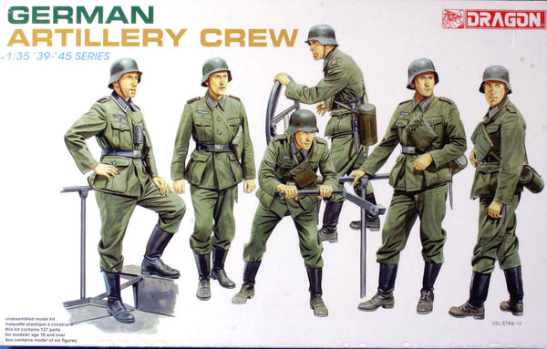 Dragon 1/35 German Artillery Crew | 6201