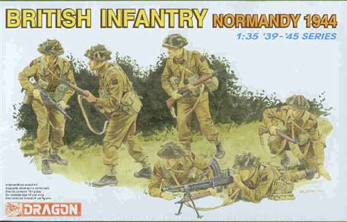Dragon 1/35 British Infantry (Normandy 1944) | 6212