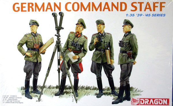 Dragon 1/35 German Command Staff | 6213