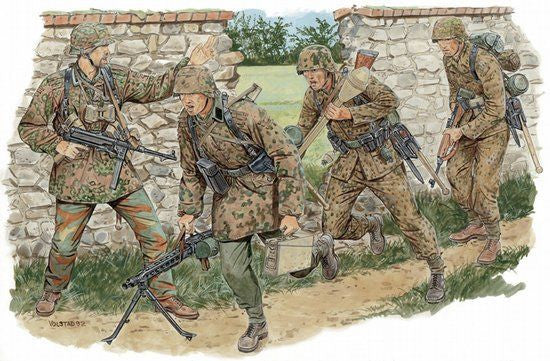 Dragon 1/35 German Combat Unit (Normandy 1944) | 6239