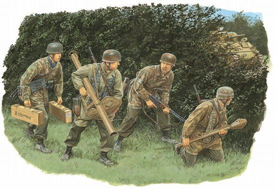 Dragon 1/35 Hedgerow Tank Hunters - Fallschirmjager (Normandy 1944) | 6242